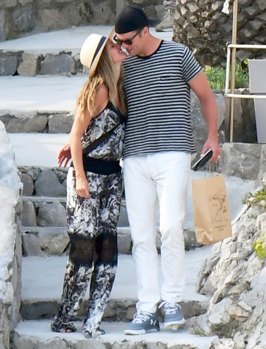 Gisele Bundchen and Tom Brady spent a week packing on the PDA and looking like the picture-perfect couple that they are while on vacation in Positano, Italy, in September 2016.