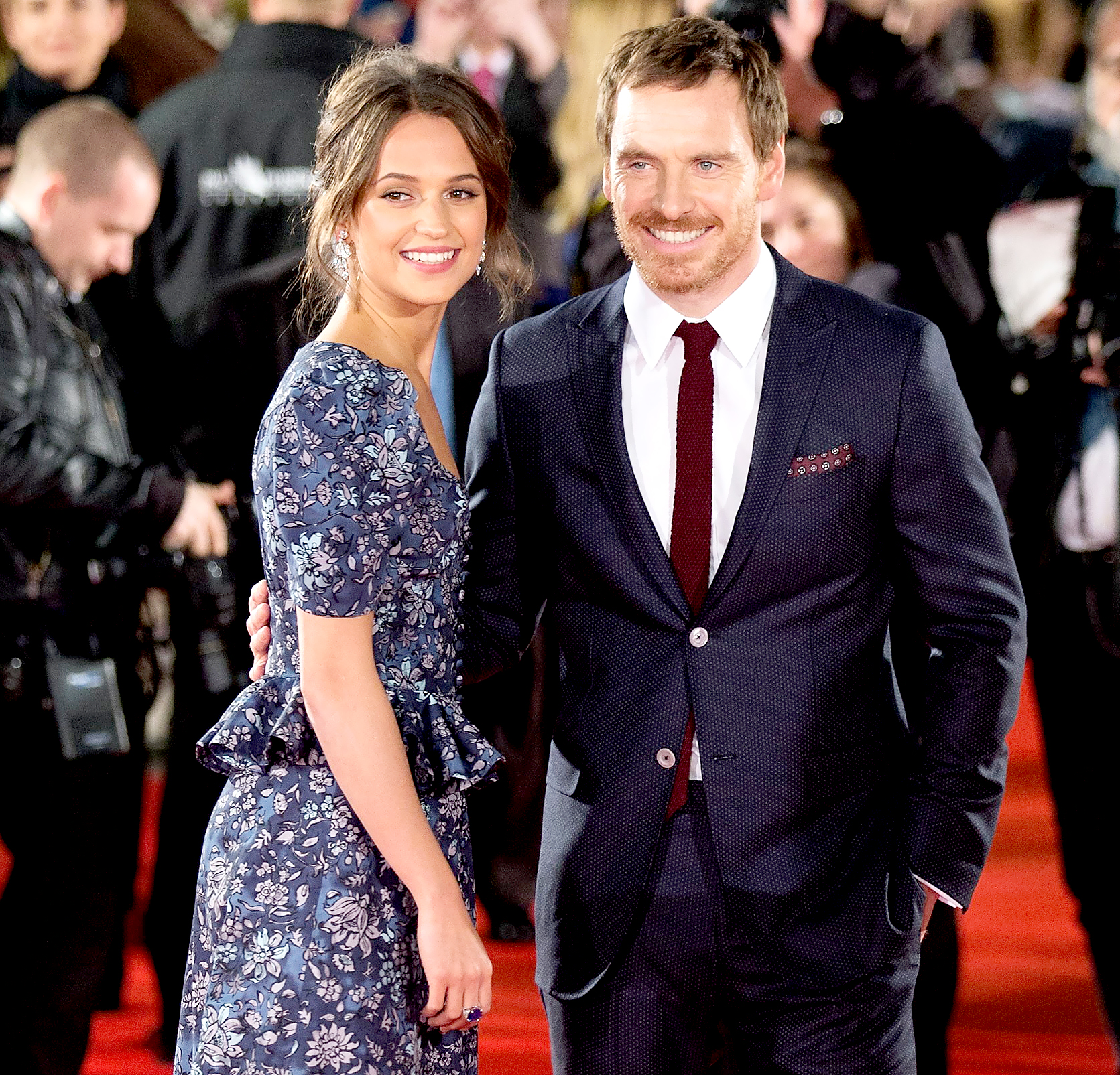 Alicia Vikander: 'I'm More Happy and Content' Since Marrying Michael Fassbender