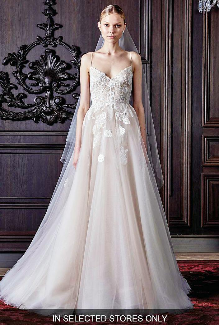 Amy Schumer $5,490 Monique Lhuillier Wedding Dress: Details