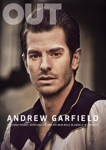 Andrew Garfield covers 'Out' magazine.