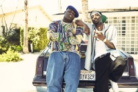 "Wavyy Jonez as Christopher ""Biggie"" Wallace, Marcc Rose as Tupac Shakur"