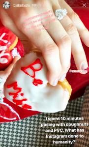 Blake Lively Doughnuts