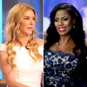 Brandi Glanville and Omarosa Manigault