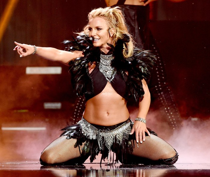 Britney Spears confident