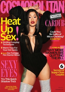 Cardi B for 'Cosmopolitan'