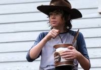 walking dead carl annoying