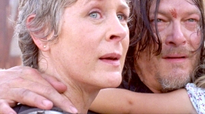 Carol and Daryl on The Walking Dead