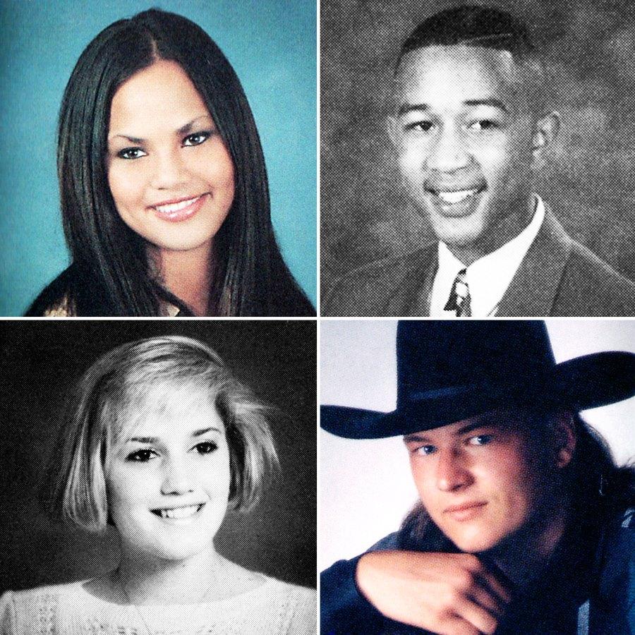 Chrissy Teigen, John Legend Gwen Stefani, Blake Shelton