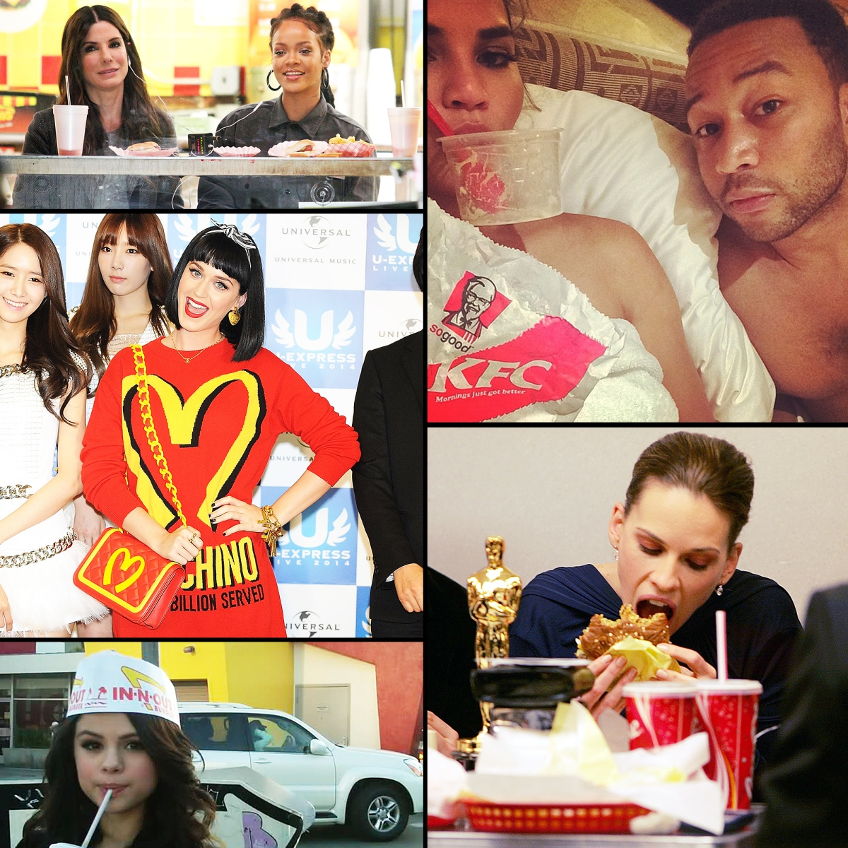 Celebrities Who Love Eating Fast Food