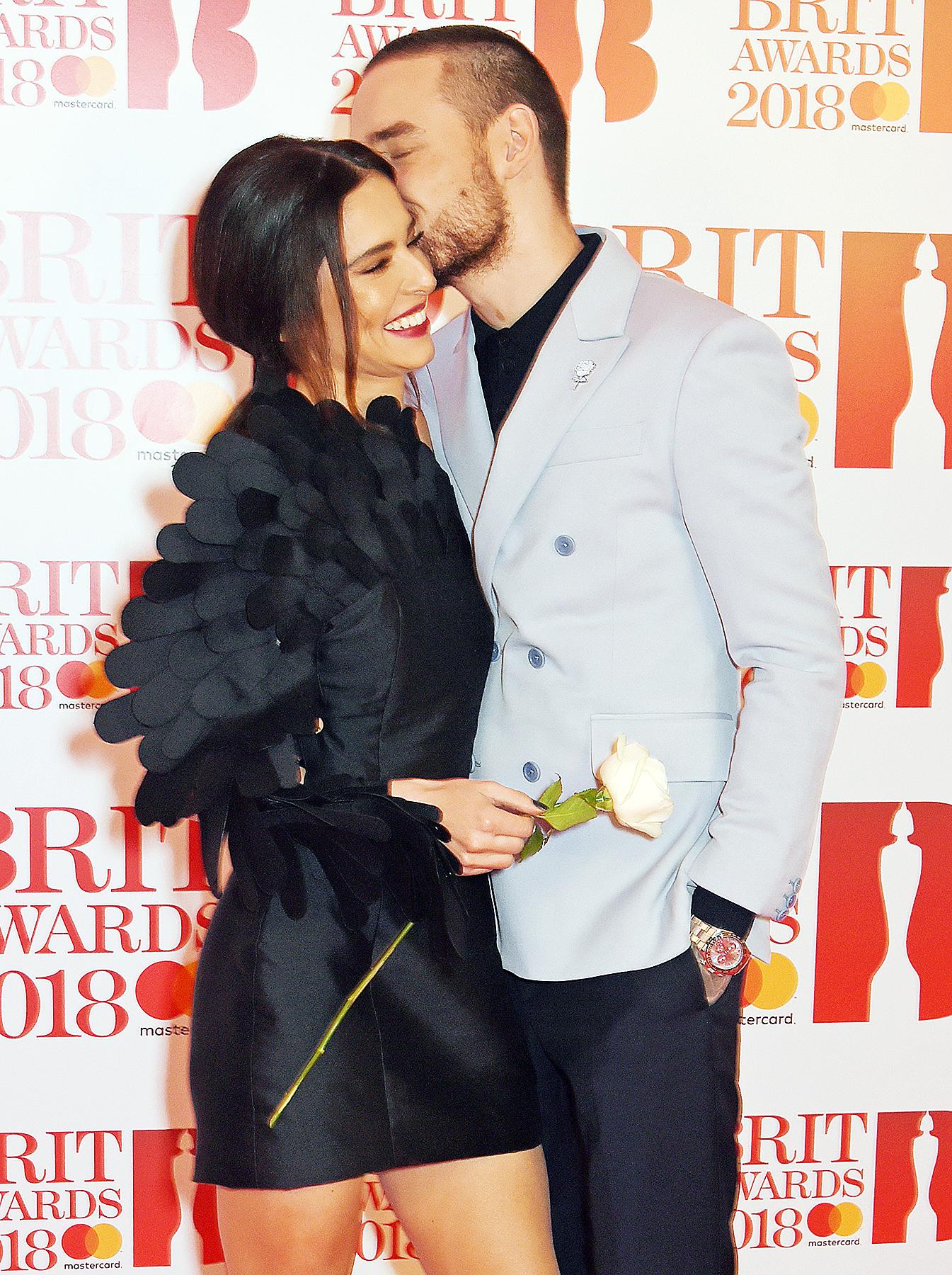 Cheryl Cole Liam Payne kiss