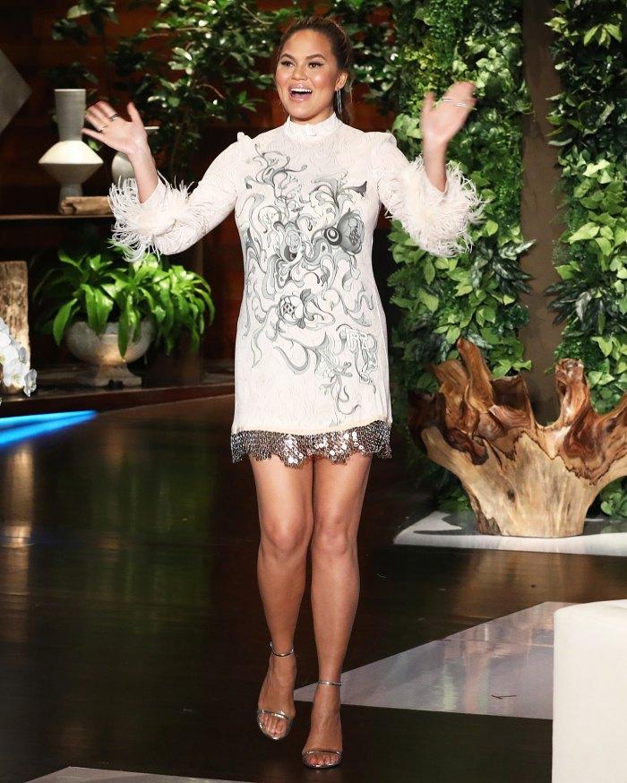 Chrissy Teigen Reveals Due Date