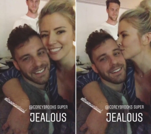 Danielle Maltby and Paul Calafiore