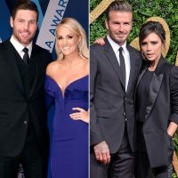 Carrie Underwood and Mike Fisher Victoria Beckham and David Beckham