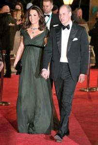 Kate Middleton, Prince William, BAFTA, EE British Academy Film Awards