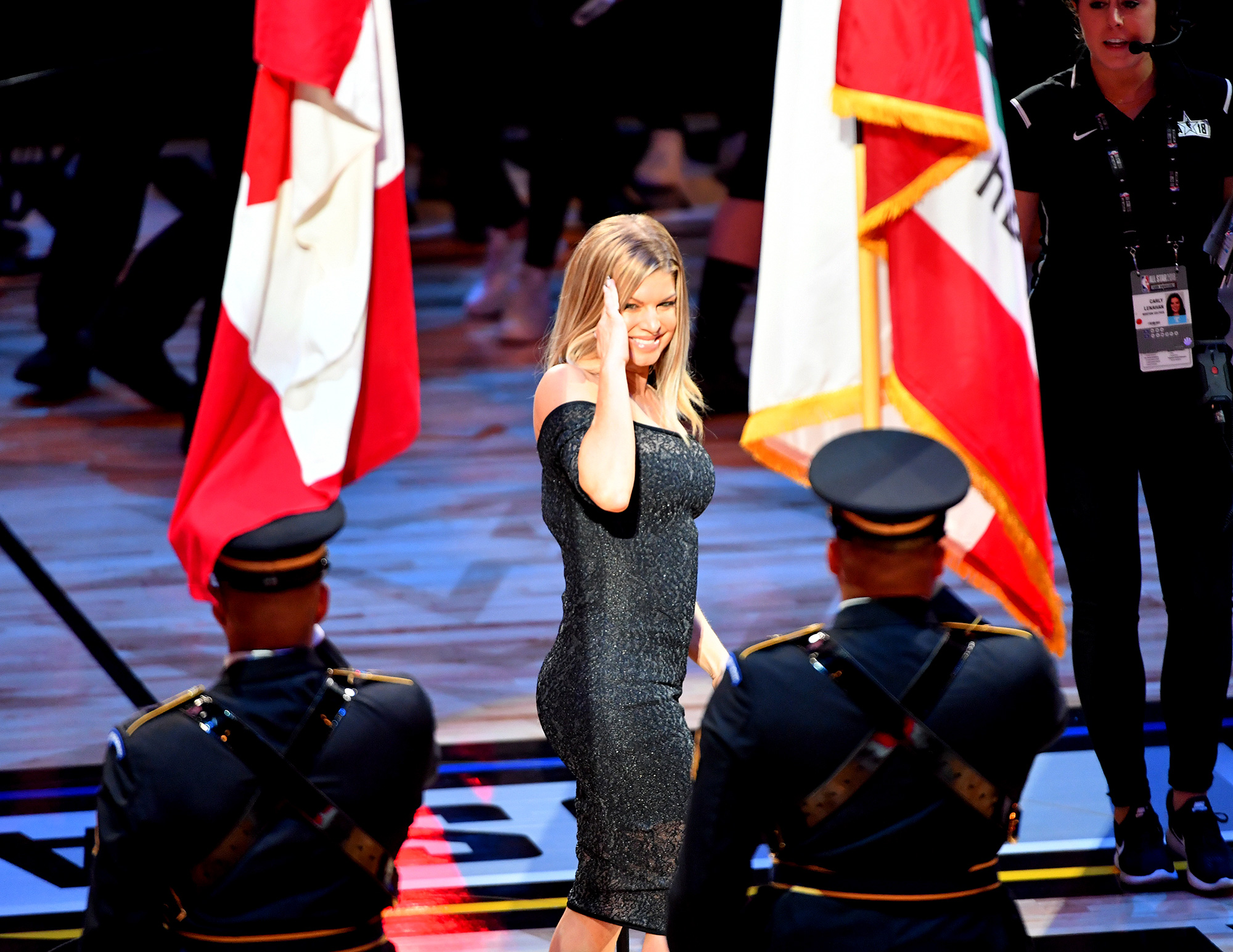 Fergie Responds To Criticism Of Her Star Spangled Banner Performance