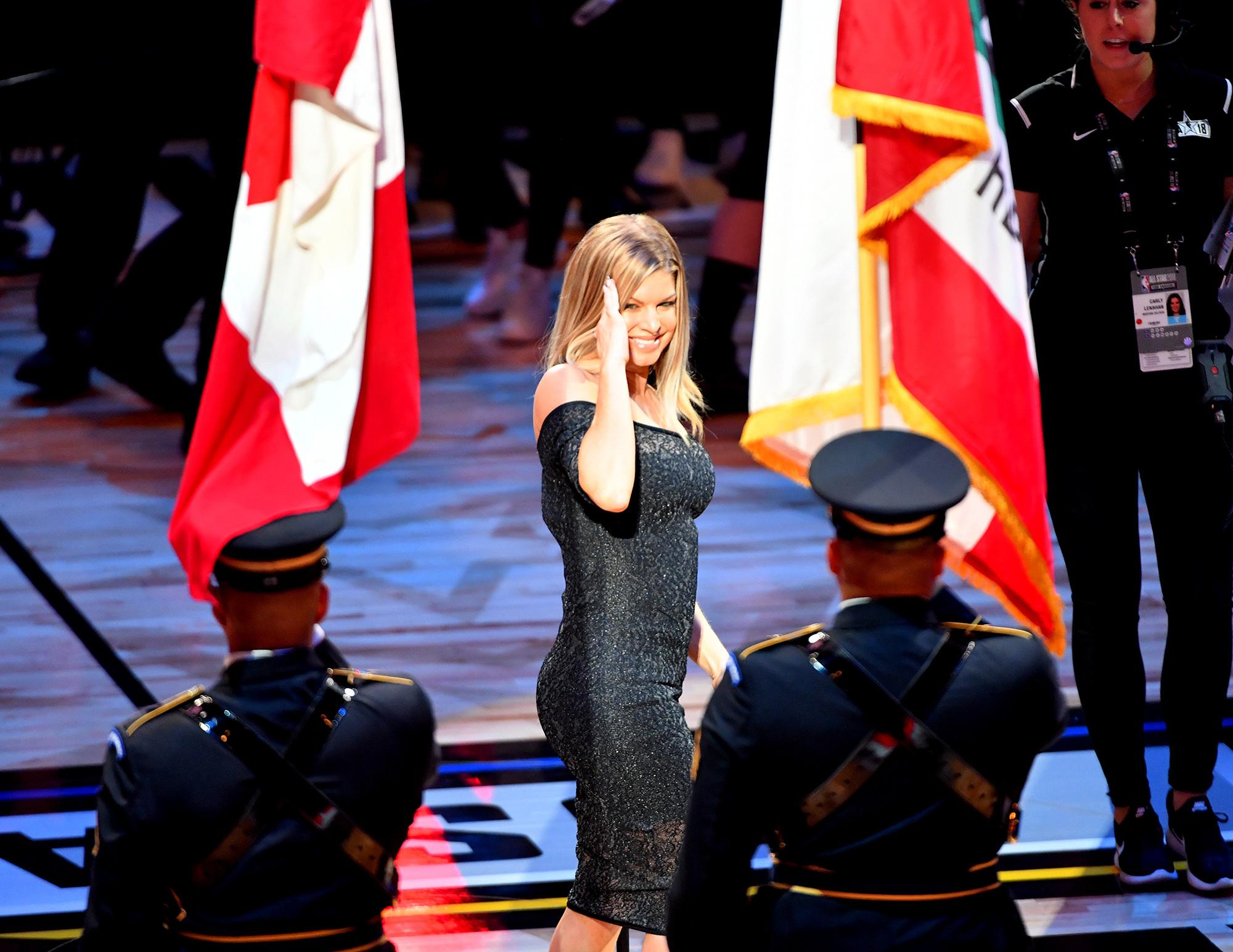 Fergie on national anthem backlash: 'I'm a risk taker'