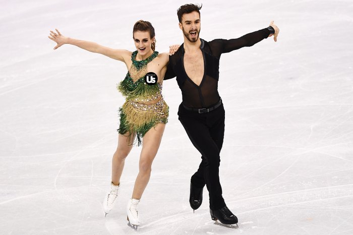 Dancers ice olympic french French ice