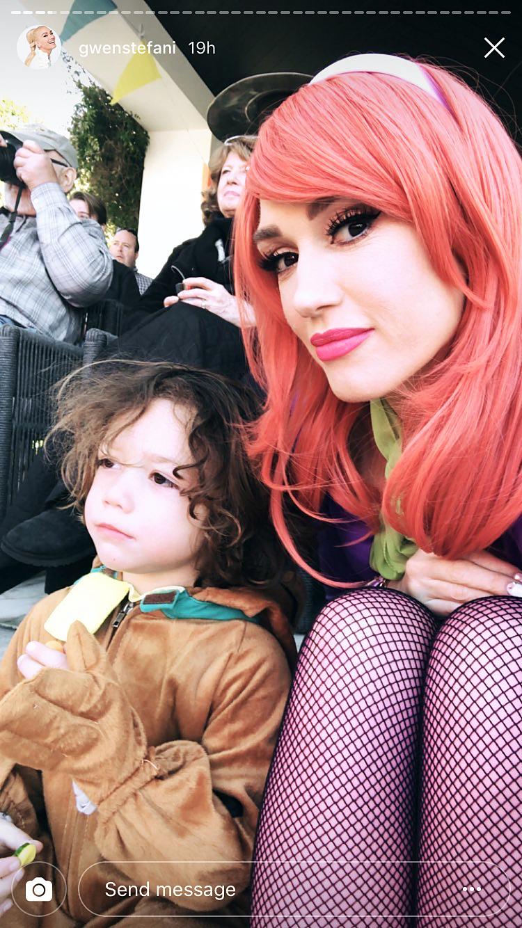 Apollo Gwen Stefani Scooby Doo party