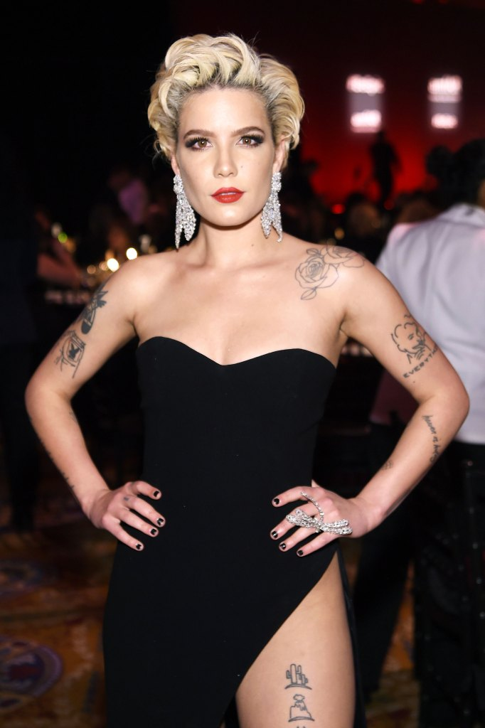 Halsey Short Hair Pixie Cut Inspo At 2018 Nyfw Details