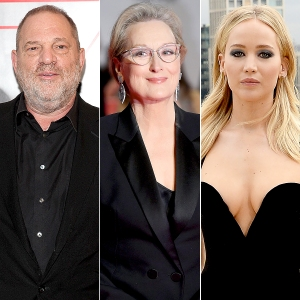 Harvey weinstein apologizes to meryl streep jennifer lawrence harvey weinstein meryl streep and jennifer lawrence stopboris Image collections