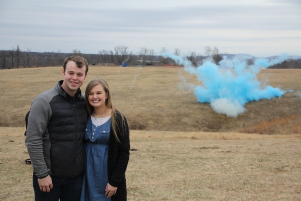 It's A Baby Boy: Joseph Duggar and Kendra Duggar Reveal The Sex of Their Baby