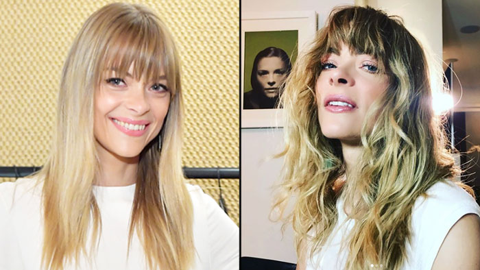 Jaime King S New Perm Hairstyle Details