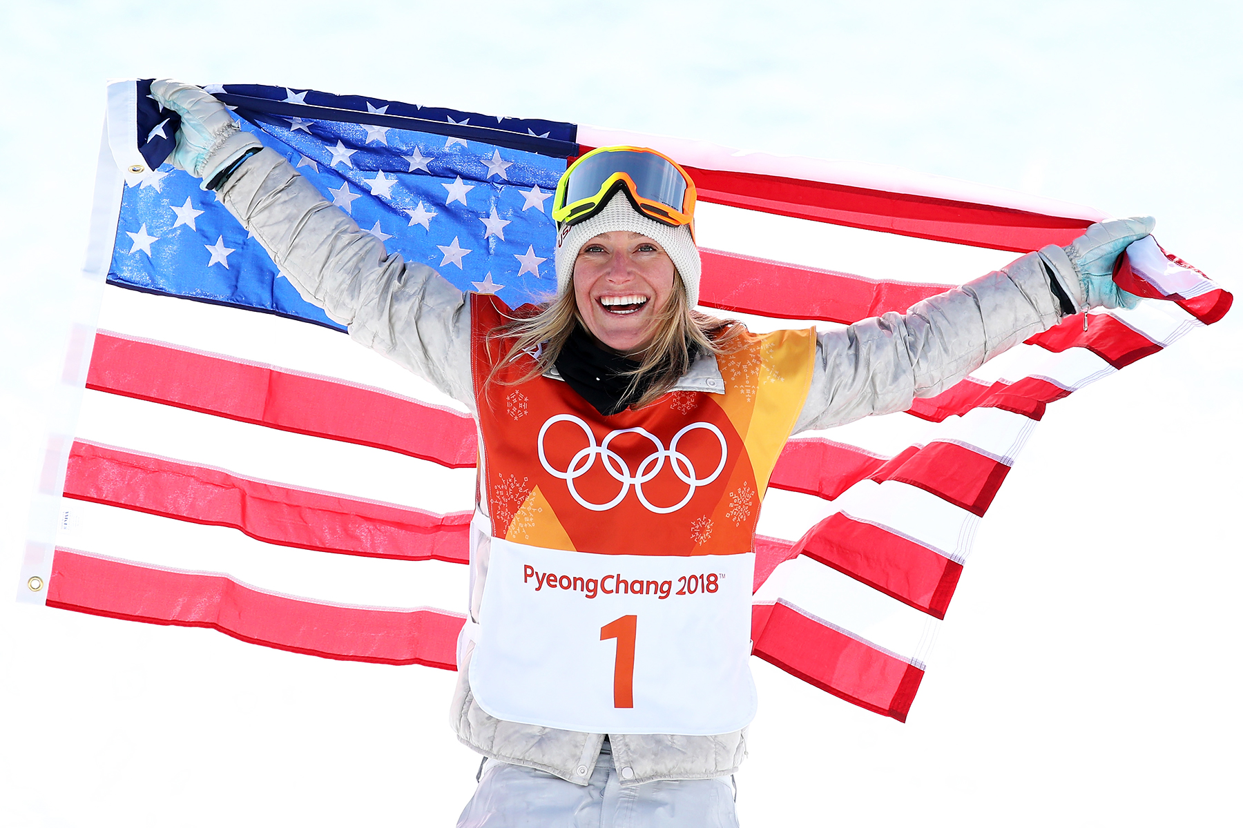 Jamie Anderson Snowboard Ladies' Slopestyle PyeongChang 2018 Winter Olympics