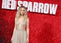 Jennifer Lawrence red sparrow fashion