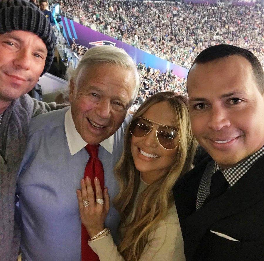 Jennifer Lopez Alex Rodriguez Super Bowl