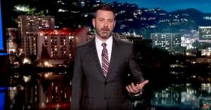 Jimmy Kimmel addressed Donald Trump