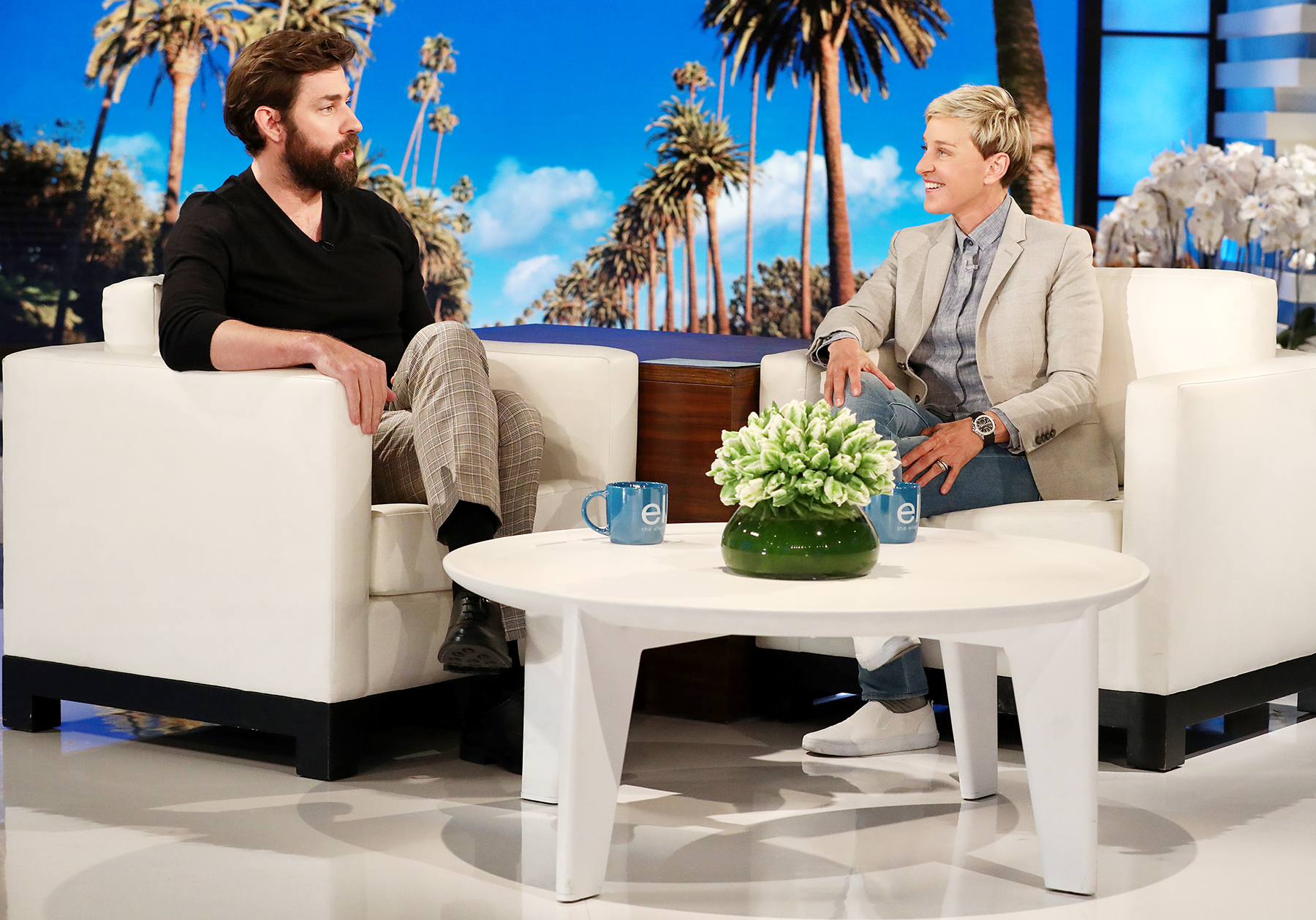 John Krasinski The Ellen DeGeneres Show