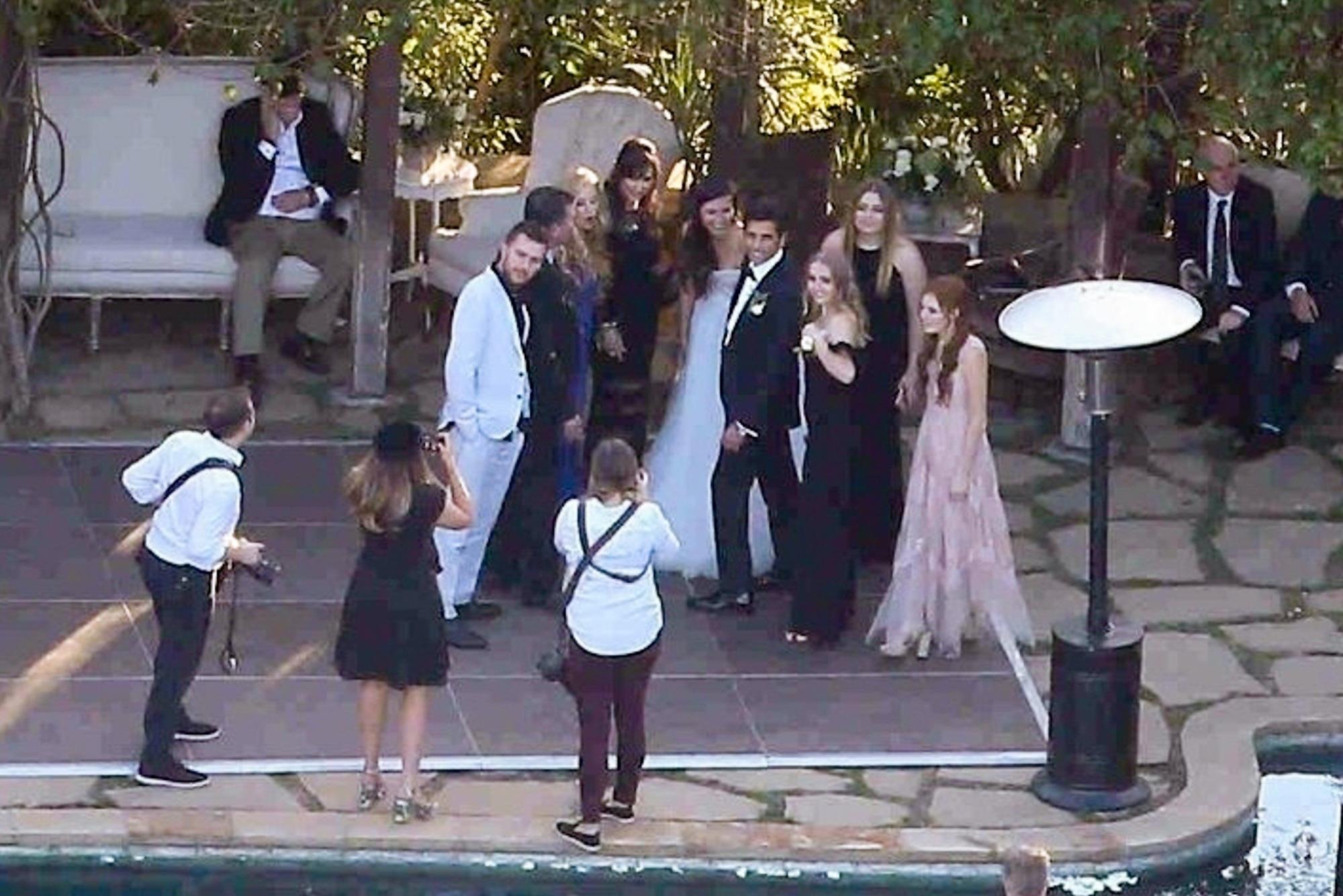 c30b43d1dcd9 John Stamos and Caitlin McHugh s Magical Wedding Day  Photos