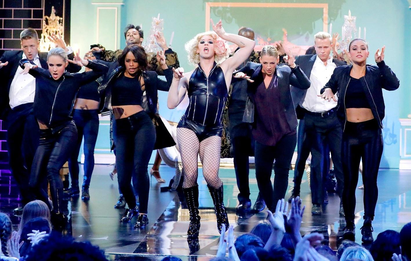 ff00f02349 Watch Johnny Weir Transform Into Lady Gaga on  Lip Sync Battle