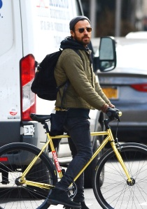 Justin Theroux is spotted for the first time since his split with Jennifer Aniston