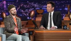 Justin Timberlake The Tonight Show Starring Jimmy Fallon Super Bowl