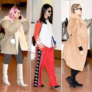 Kim, Kourtney, and Khloe Kardashian arrive in Tokyo.