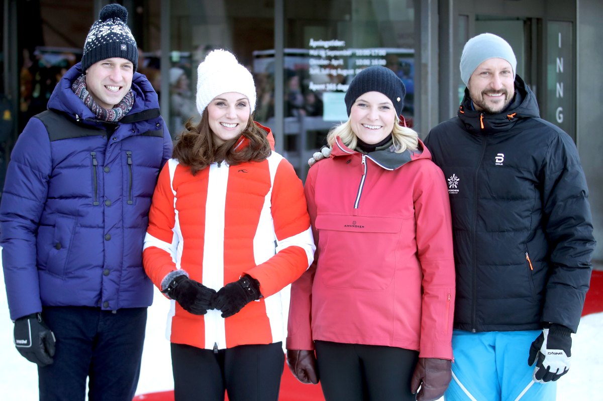 Kate Middleton, Prince William Meet Royal Families in Norway, Sweden