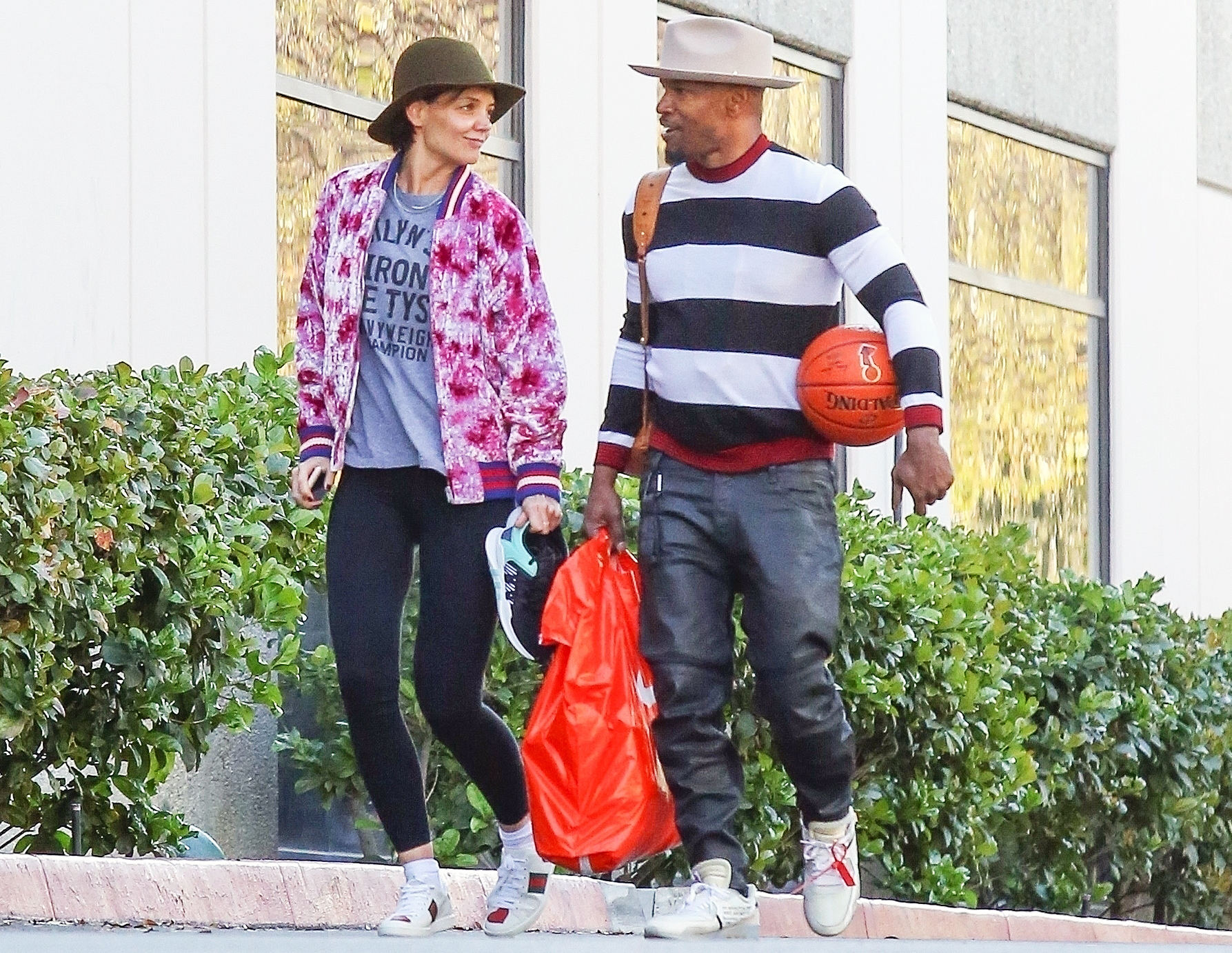 Katie Holmes Jamie Foxx Agreed Not to Speak About Relationship in Public