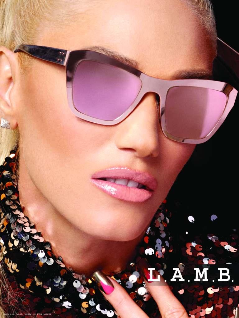 028811e75e4 Gwen Stefani Spring 2018 L.A.M.B. x Tura Glasses Interview