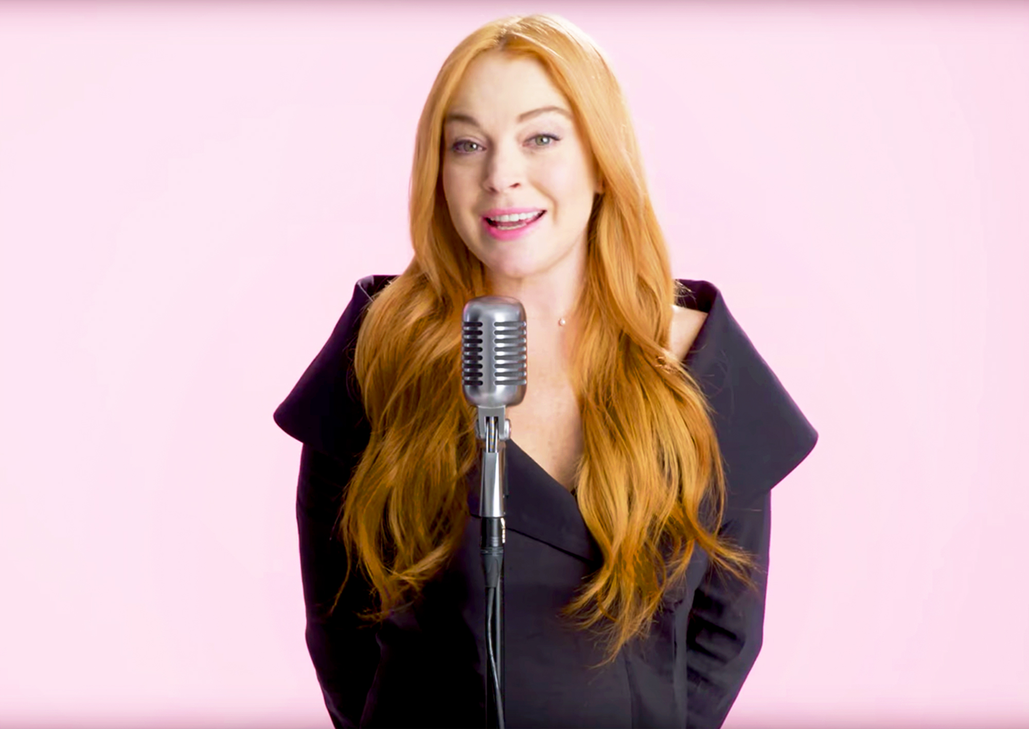 Lindsay Lohan Makes Fetch Happen, Recreates Iconic 'Mean Girls' Quotes