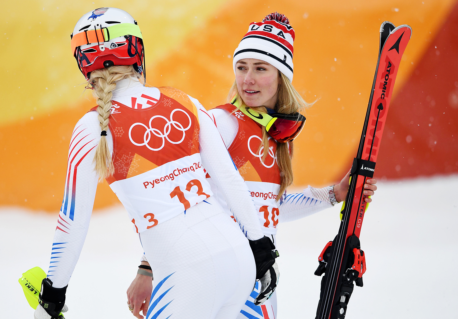 Lindsey Vonn Mikaela Shiffrin Pyeongchang 2018 Winter Olympics