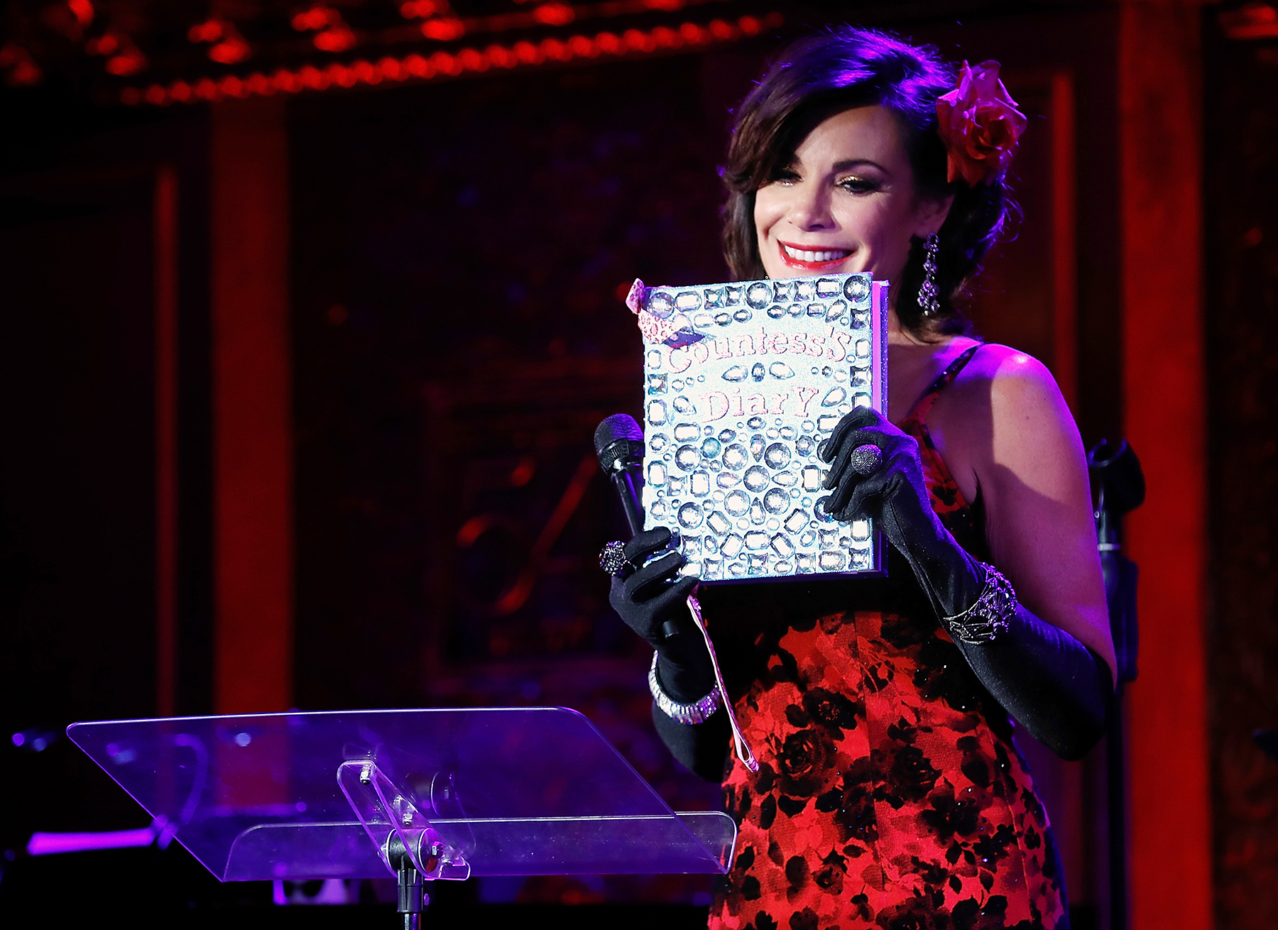 Luann de Lesseps Pokes Fun at Arrest and Rehab Stint During Cabaret Show