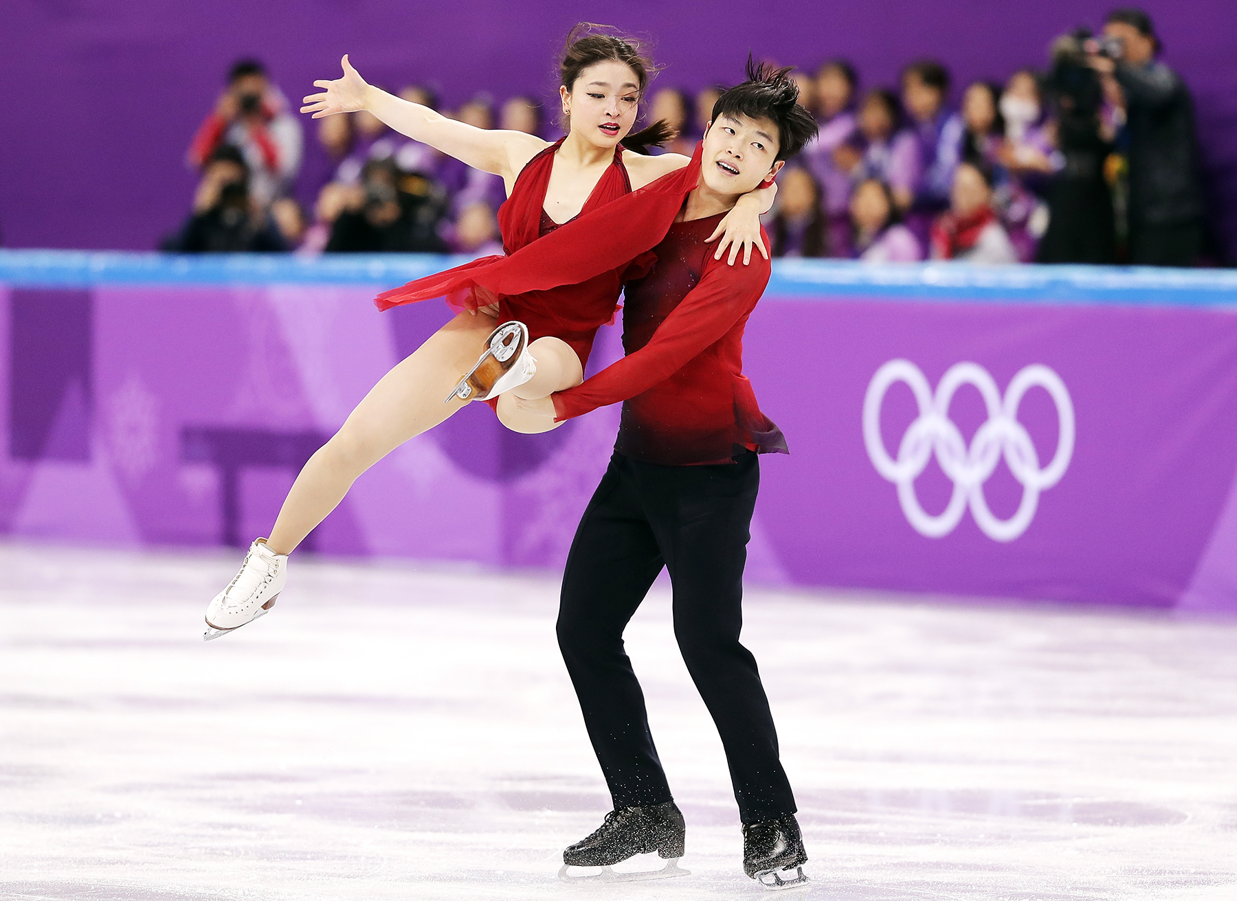 Maia Shibutani Alex Shibutani Figure Skating Team Event Ice Dance Free Dance PyeongChang 2018 Winter Olympics