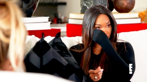 Malika Haqq and Khloe Kardashian on 'KUWTK'