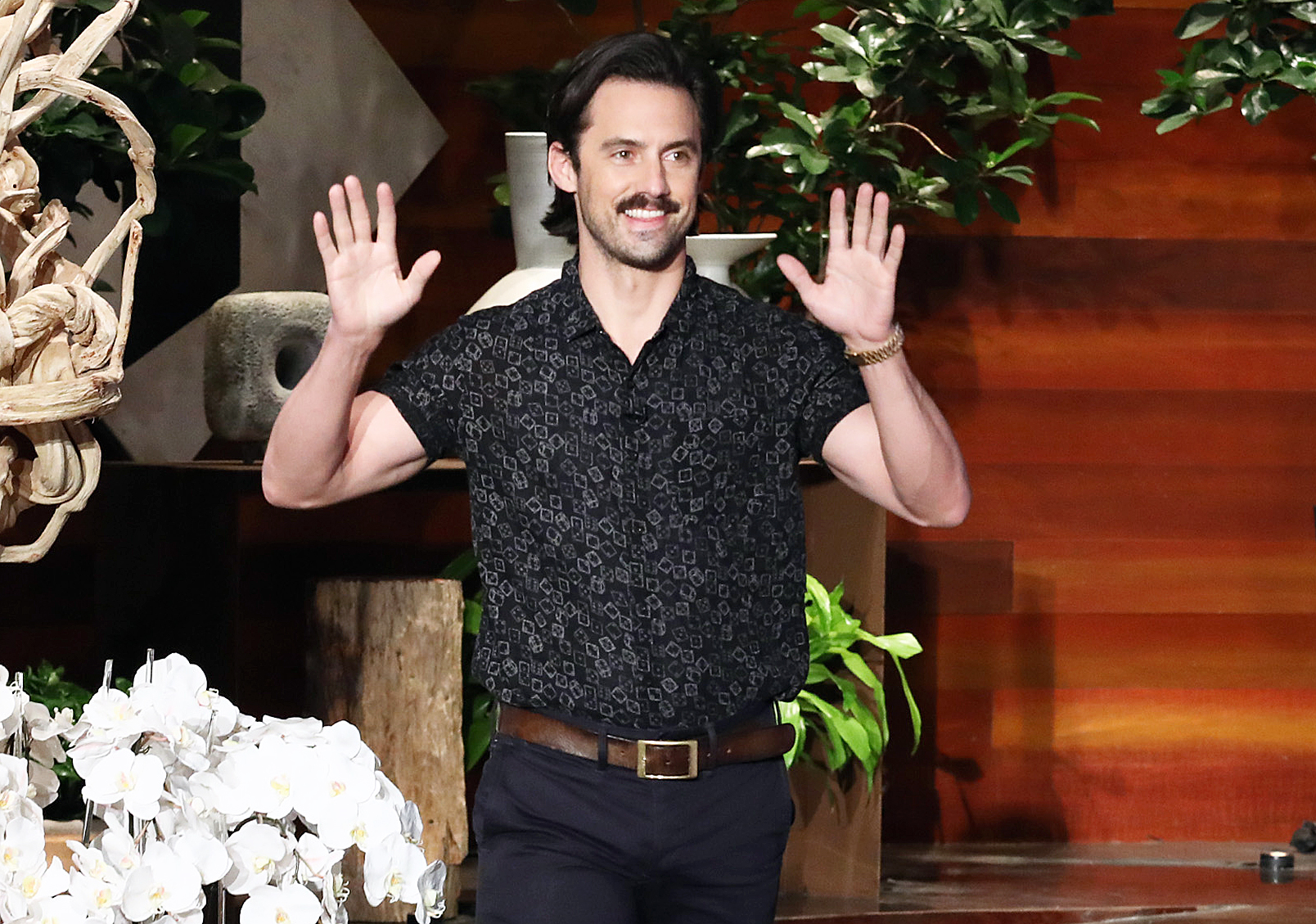 Milo Ventimiglia tries to defend Crock-Pot on 'Ellen'
