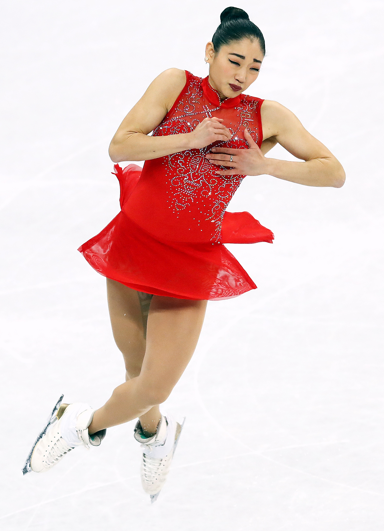 Mirai Nagusu First U.S. Woman to Land Triple Axel at Olympics