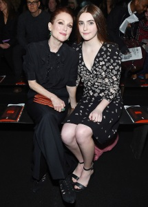 New York Fashion Week, Julianne Moore, Liv Freundlich, Bottega Venetta