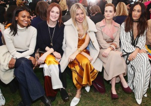 New York Fashion Week, Liya Kebede, Julianne Moore, Sienna Miller, Zoey Deutch, Maggie Q, Tory Burch