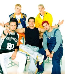 NSYNC C Chasez, Chris Kirkpatrick,Lance Bass, JustinTimberlake, and Joey Fatone