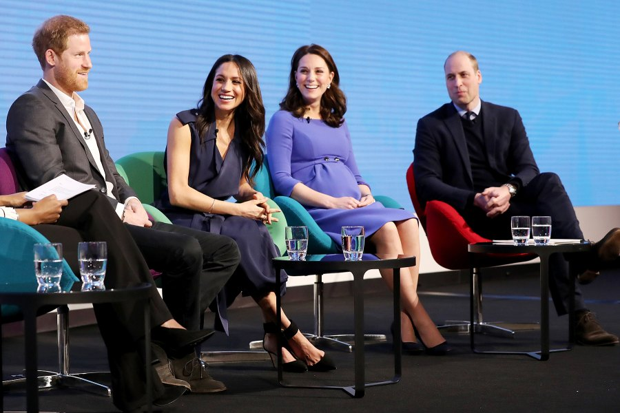 Prince Harry Meghan Markle Duchess Kate Prince William Royal Foundation Forum